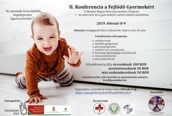 II. Konferencia a Fejlődő Gyermekért